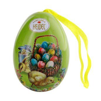 Petit œuf métal décoratif nostalgie - Heidel