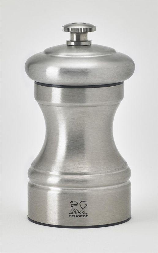 Moulin à sel Bistro inox Paris 10cm - Peugeot
