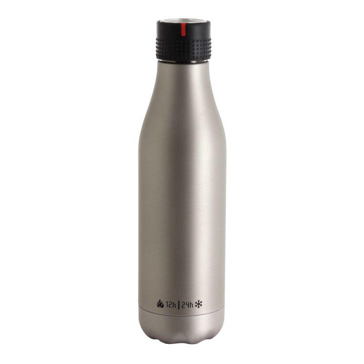 Bouteille isotherme Bottle Up Time´Up argentée 500ml - Les Artistes