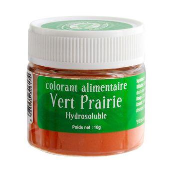 Colorant alimentaire hydrosoluble 10gr vert prairie - Le Comptoir Colonial