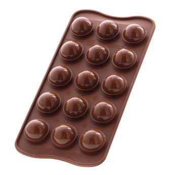 Achat en ligne Moule à chocolat en silicone Tartufino - Silikomart
