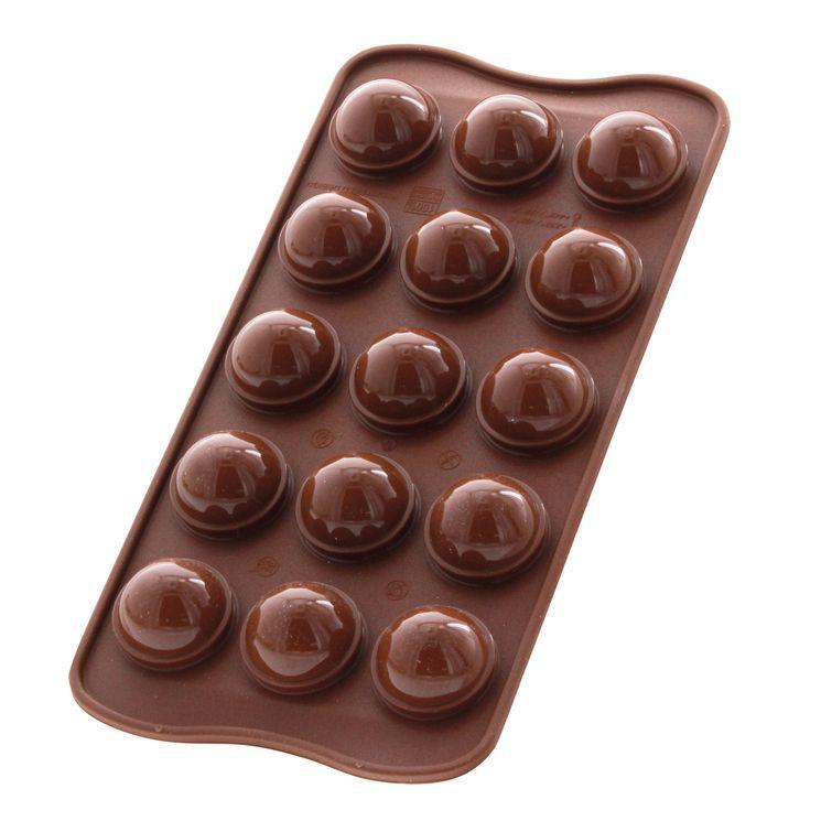Moule à chocolat en silicone Tartufino - Silikomart
