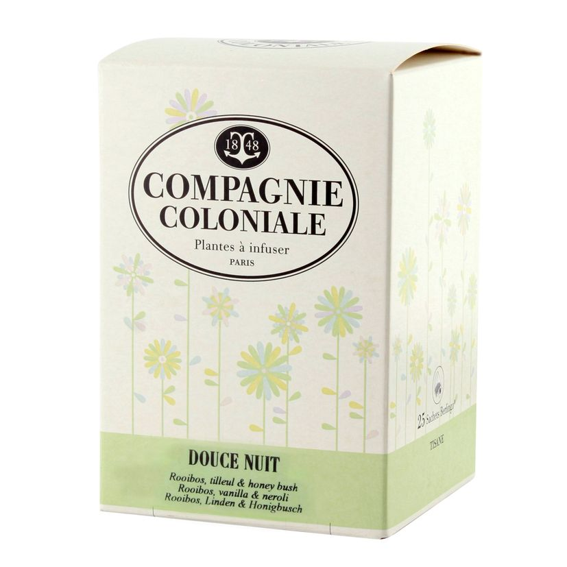 Infusion Douce nuit - Compagnie Coloniale