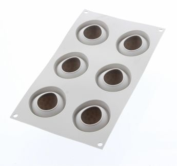 Moule silicone 3D fraise - Silikomart