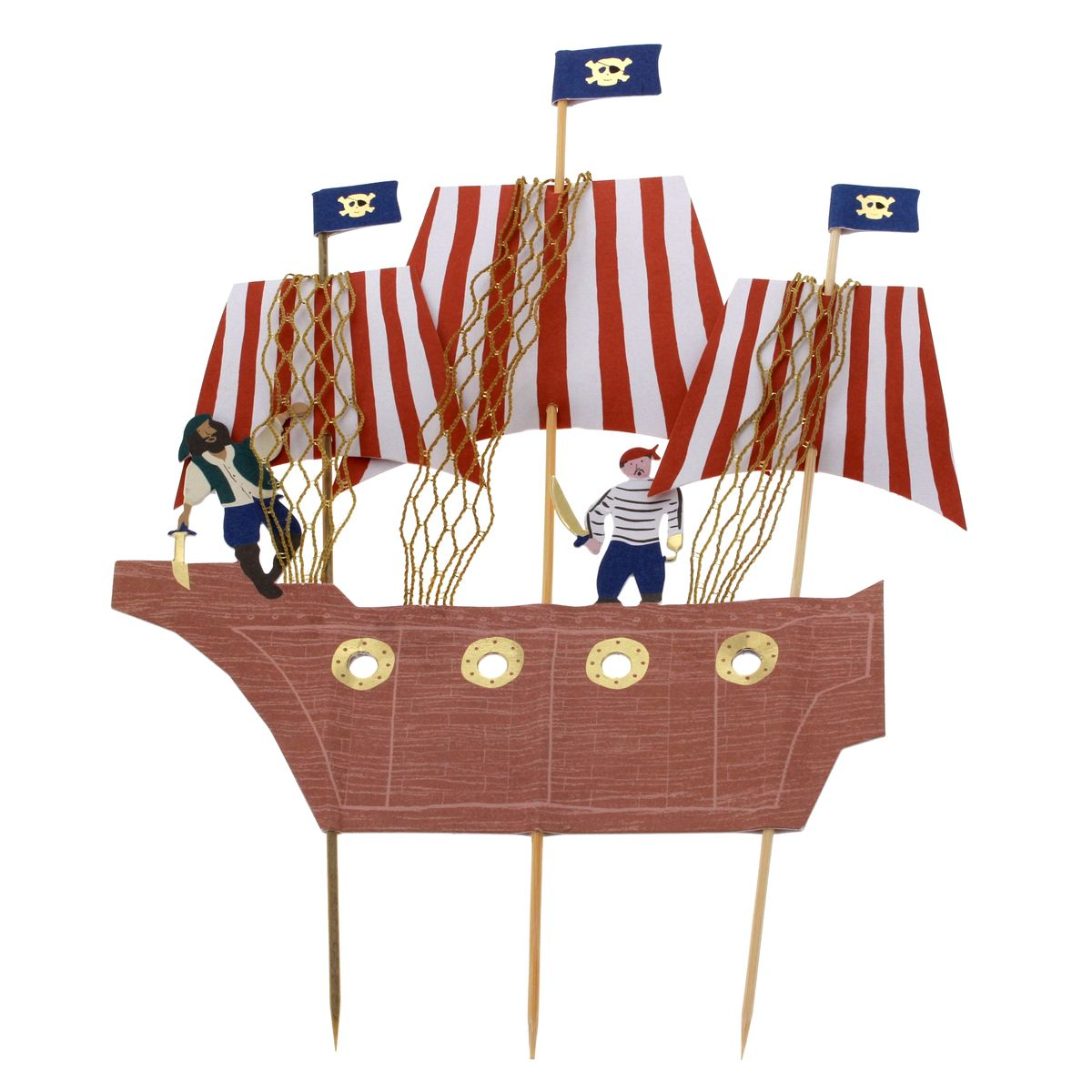 Cake topper pirate - Meri Meri