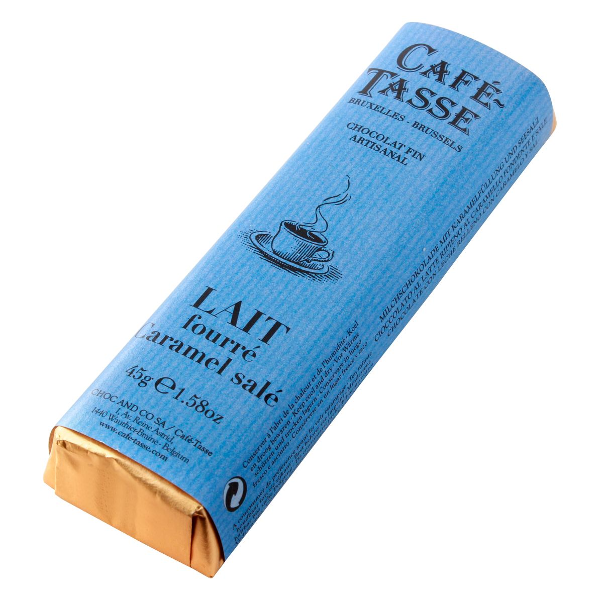 Bâton assorti goût lait caramel salé - Cafetasse