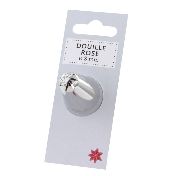 Douille rose 8mm