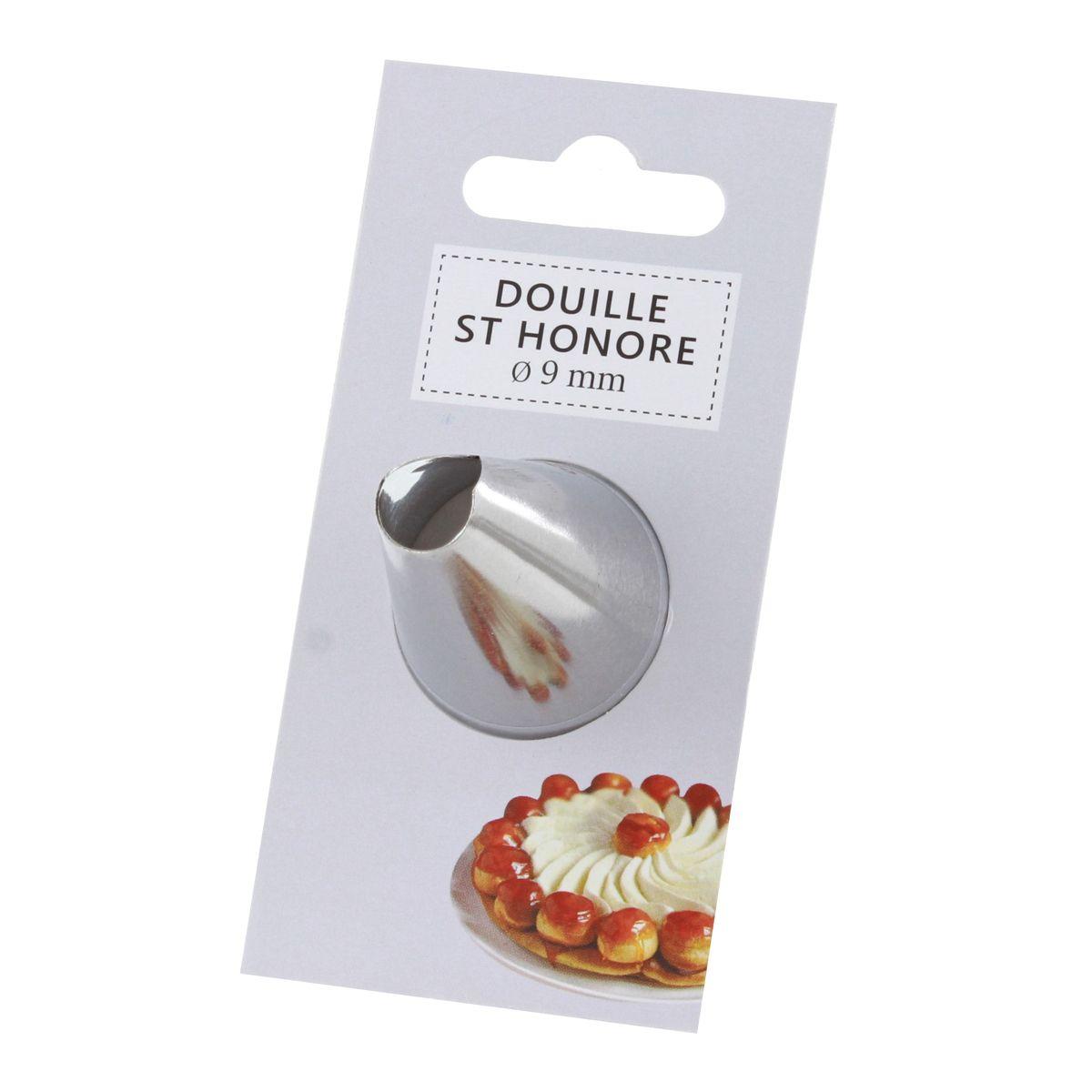 Douille inox saint-honoré 9 mm