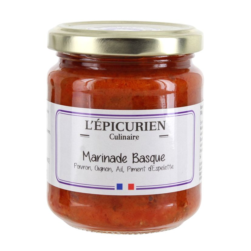Marinade basque - L´Epicurien