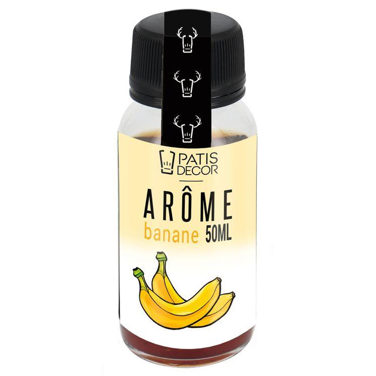 Arôme alimentaire naturel banane 50 ml - Patisdecor