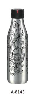 Bouteille Bottle Up Time´Up tatoo mat 500ml - Les artistes Paris