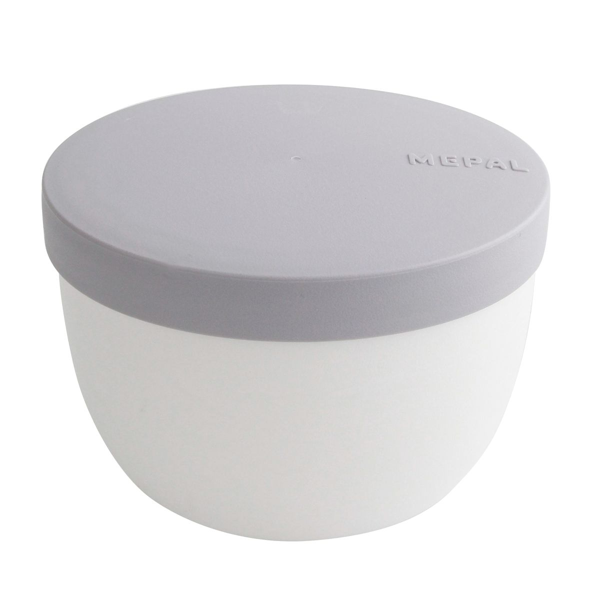 Snack pot ellipse blanc 350ml - Mepal