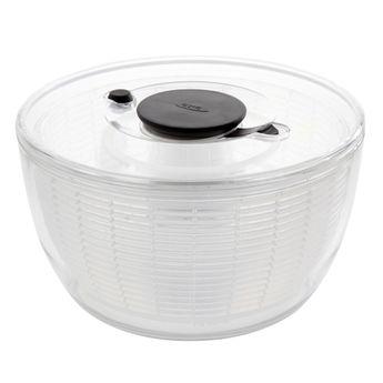 Achat en ligne Essoreuse à salade transparente Push 27 cm - Oxo