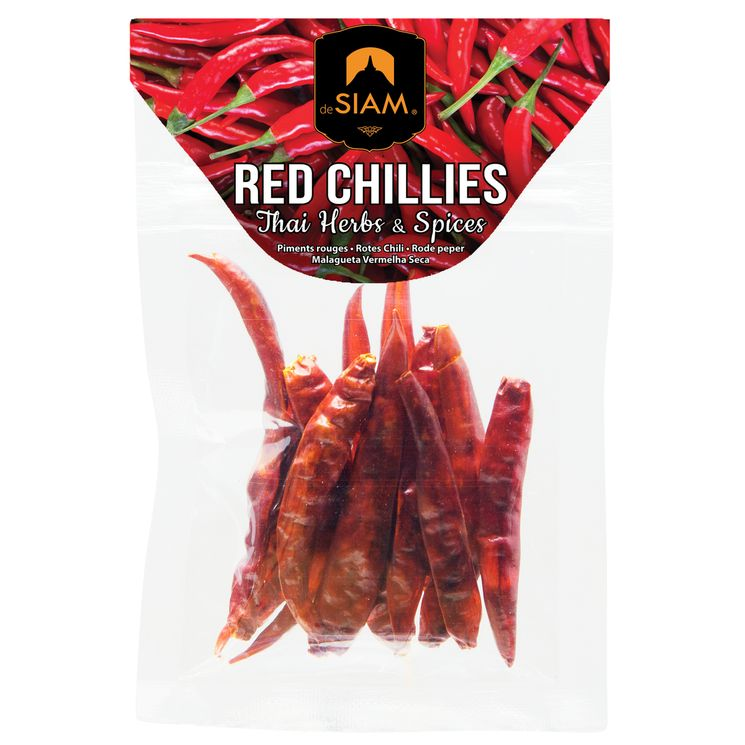 Chili sec 6 gr Red Chillies de Siam