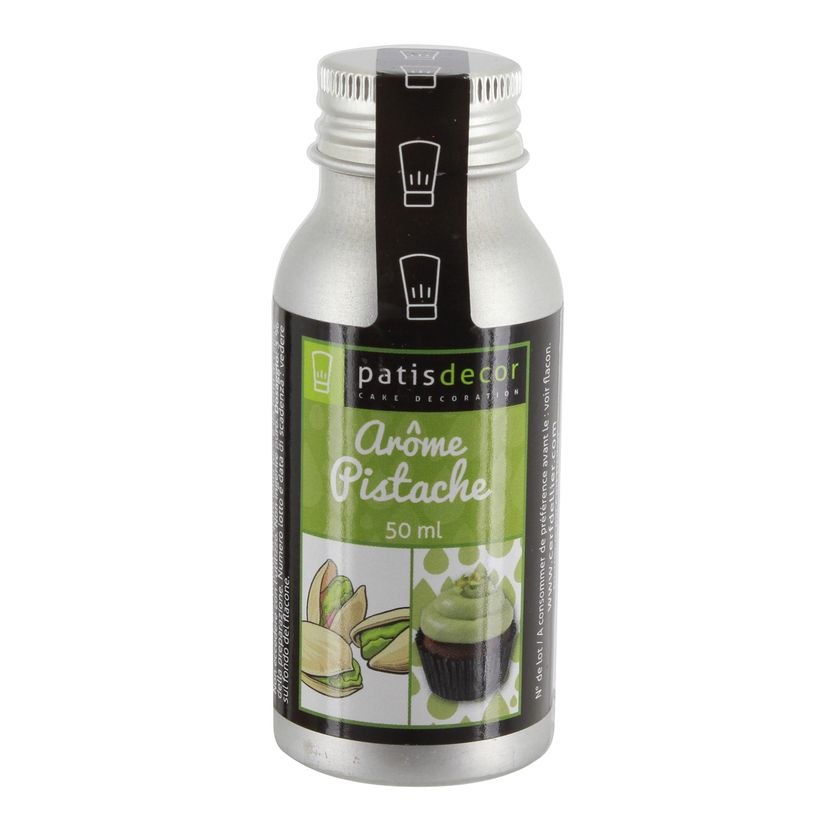 Arôme alimentaire naturel pistache - Patisdecor