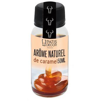 Achat en ligne Arôme alimentaire naturel caramel 50 ml - Patisdecor