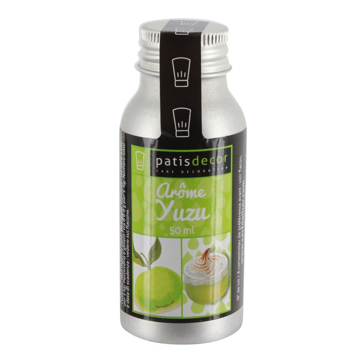 Arôme alimentaire naturel yuzu 50 ml - Patisdecor