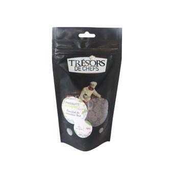 Chocolat de couverture noir 65% bio 250gr - Trésors de Chefs