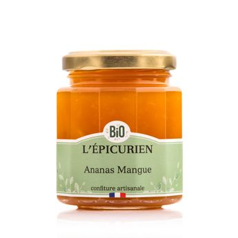 Confiture ananas mangue bio - L´Epicurien