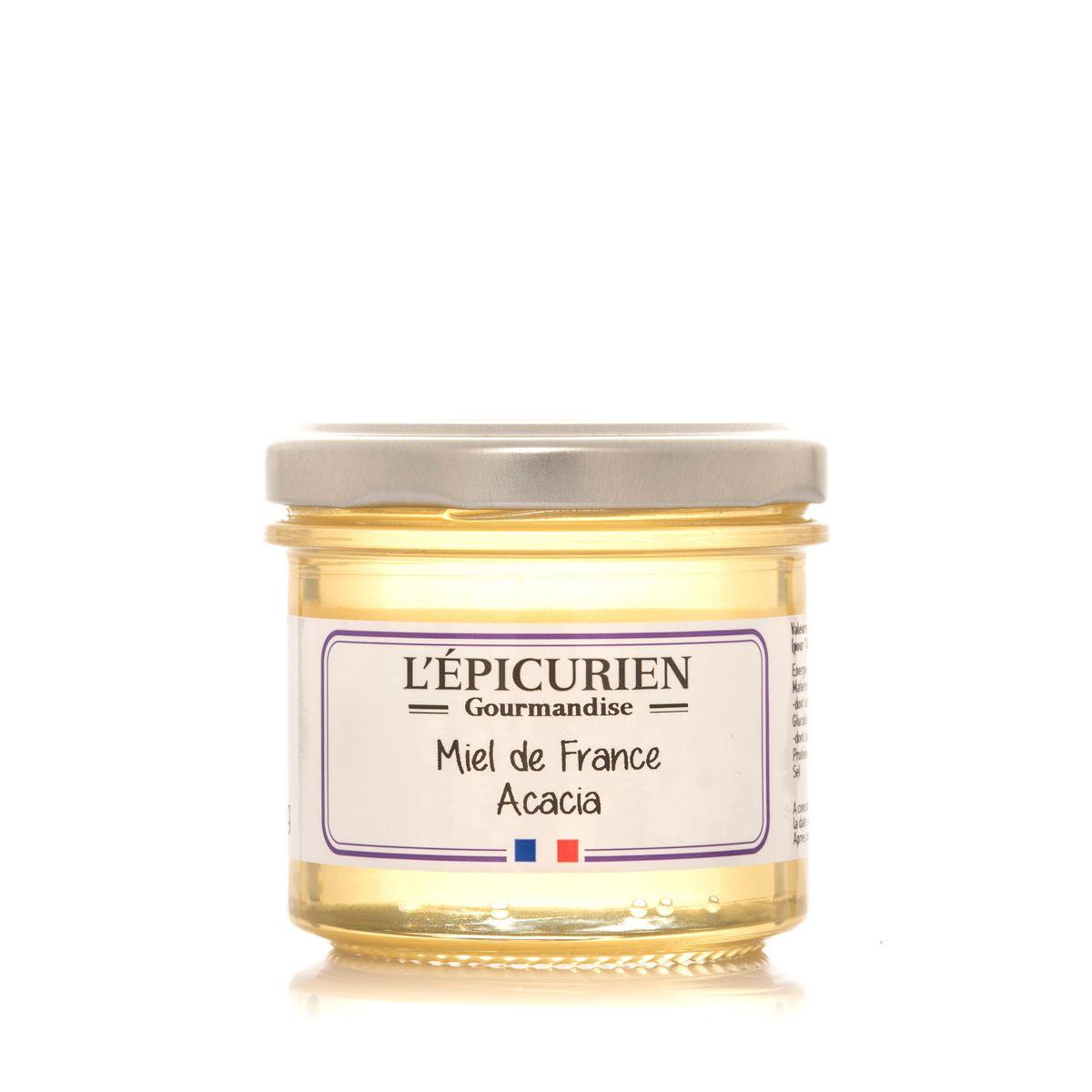Miel de fleurs D´acacia 150gr - L´Epicurien