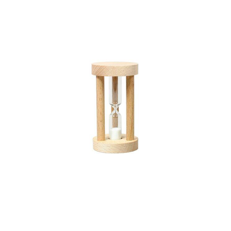 Sablier 3 minutes en bois d´hêtre - Chevalier Diffusion