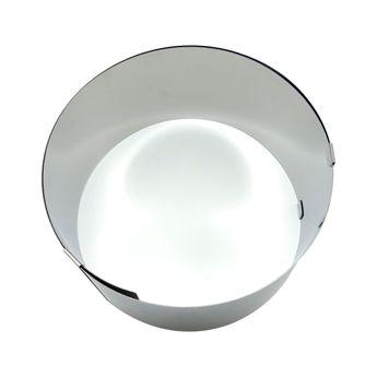 Achat en ligne Cercle à pâtisserie extensible en inox de 18 à 30 cm hauteur 9 cm - Zodio