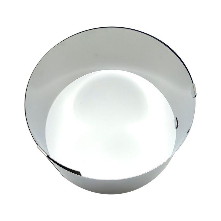 Cercle à pâtisserie extensible en inox de 18 à 30 cm hauteur 9 cm - Zodio