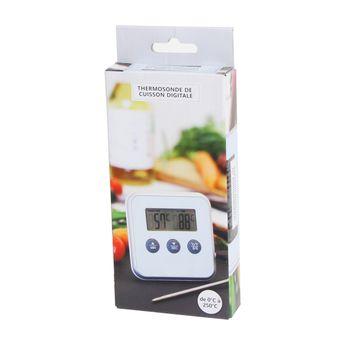 Achat en ligne Thermomètre avec sonde blanc - Zodio