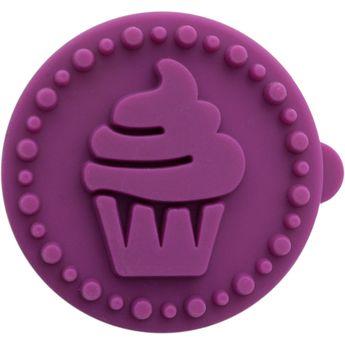 Tampon biscuit bois et silicone cupcakes 5 cm - Birkmann