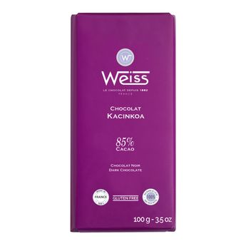 Tablette 100g kacinkoa 85% - Weiss
