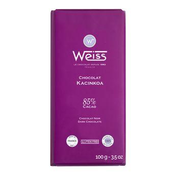 Tablette kacinkoa 85% 100gr - Weiss