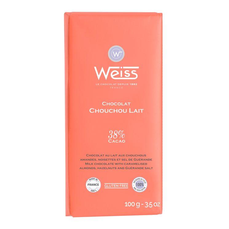 Tablette 100g lait chouchou - Weiss