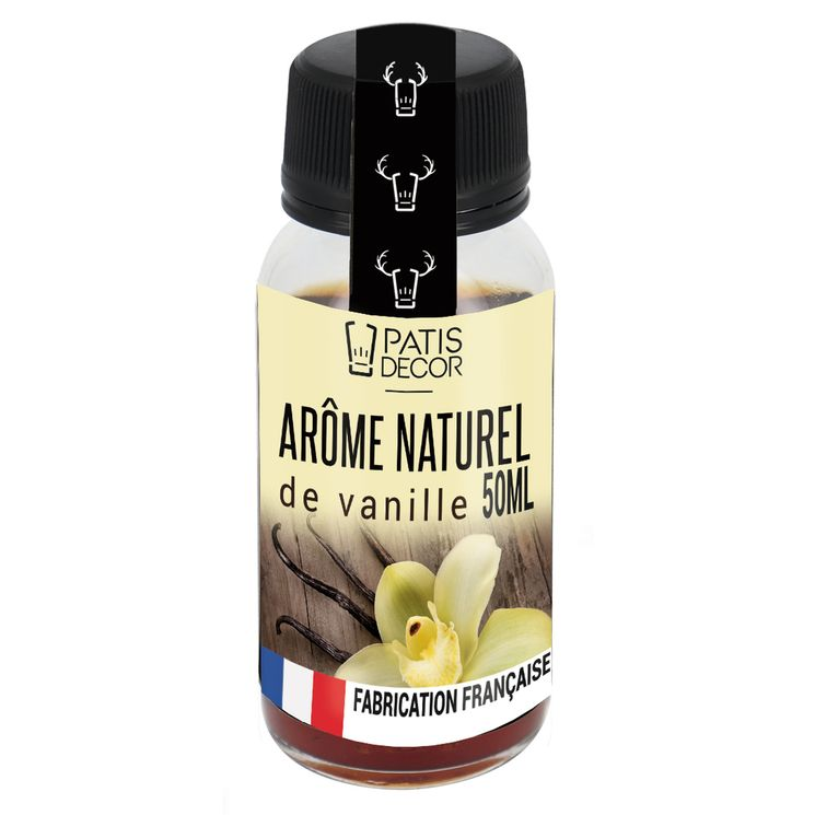 Arôme alimentaire naturel vanille 50 ml - Patisdecor
