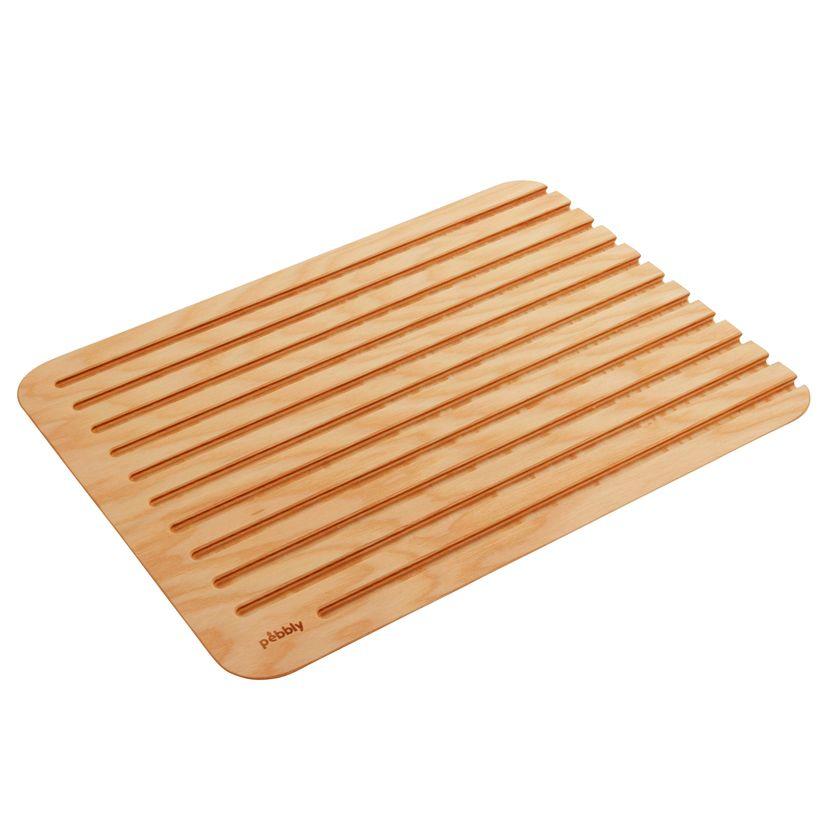 Planche à pain en bois XL 40 x 30 cm - Pebbly