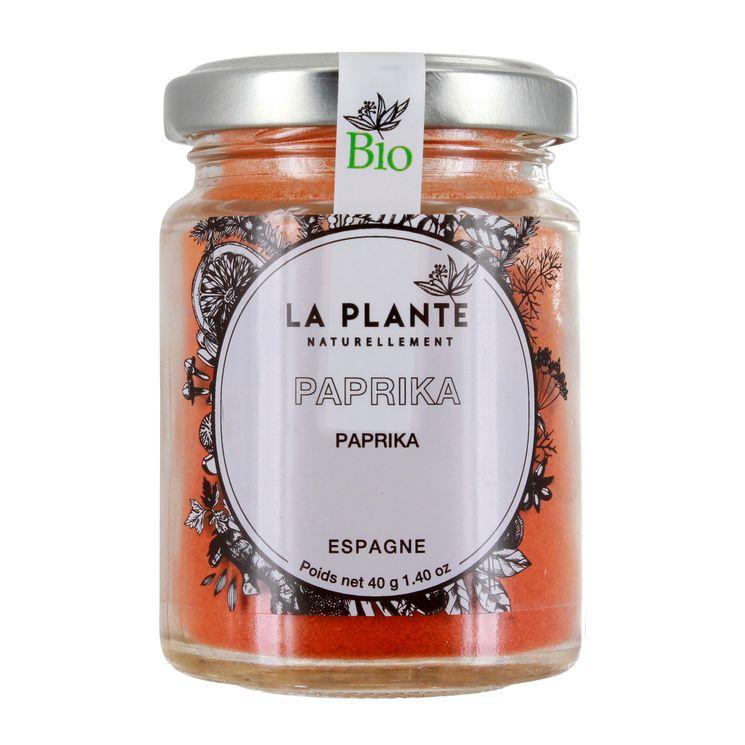 Paprika BIO 40g - La Plante