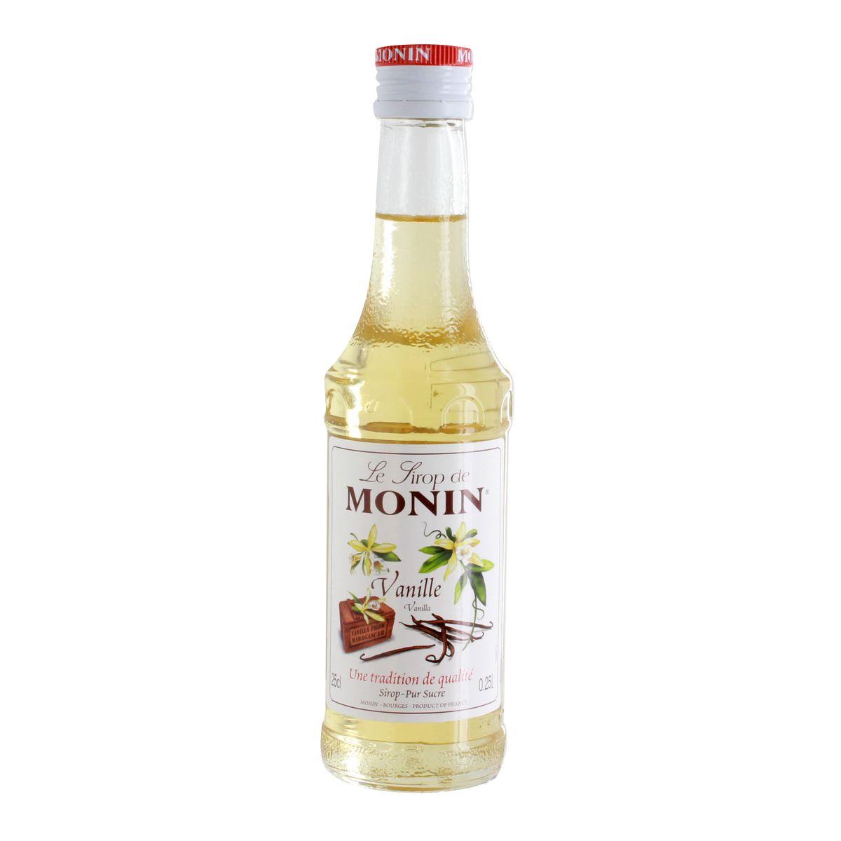 Sirop 25 cl vanille - Monin
