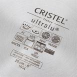 Poêle Castel pro fixe ultralu 20 cm - Cristel