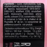 Ruban pâte à sucre rose arabesques - Patisdecor