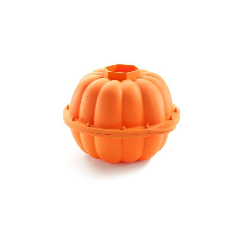 Moule en silicone citrouille 3D - Lékué
