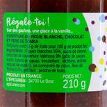 Confiture petit bonheur  (figue blanche, chocolat et tonka) - L´Epicurien