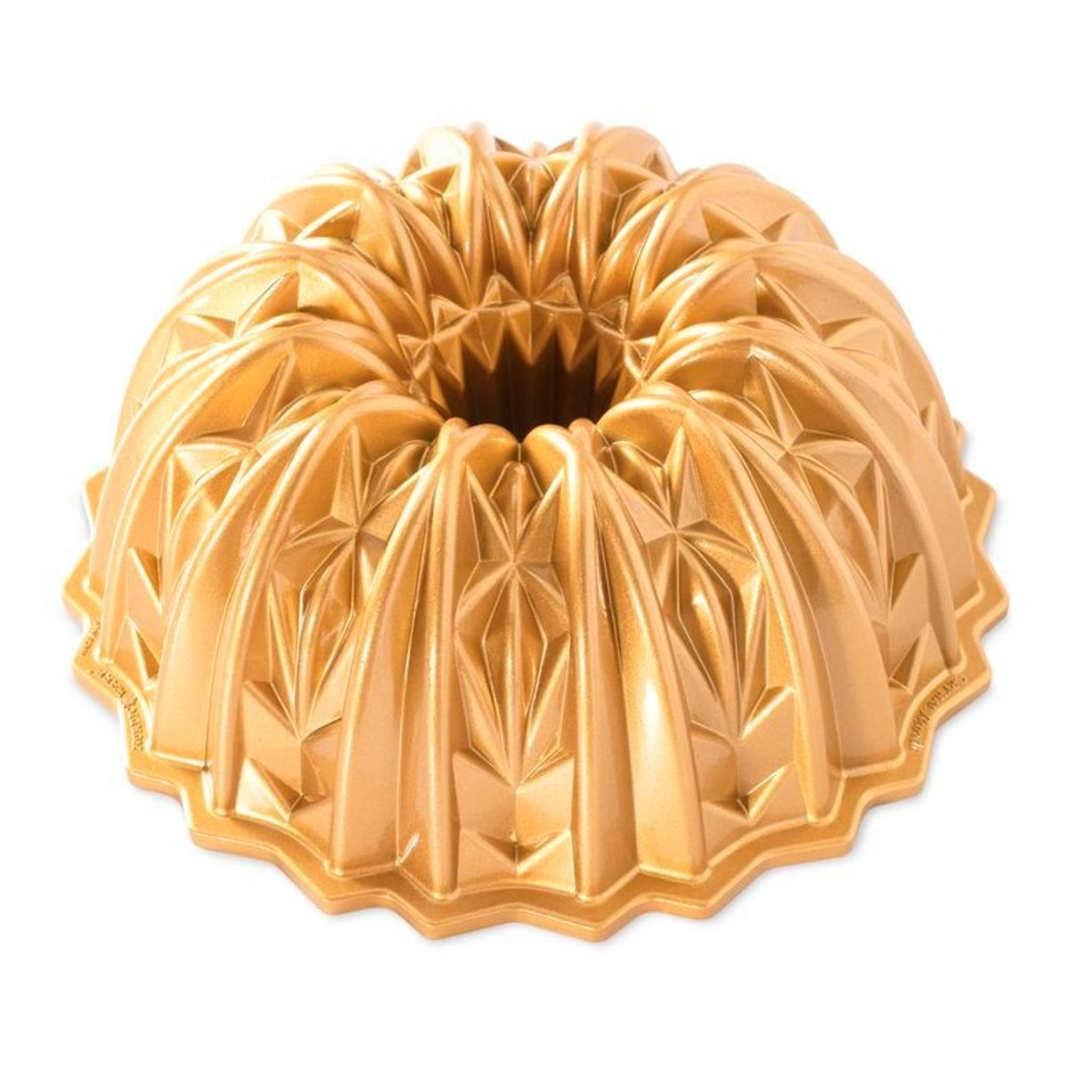 Moule crystal bundt pan en fonte d´aluminium - Nordic Ware