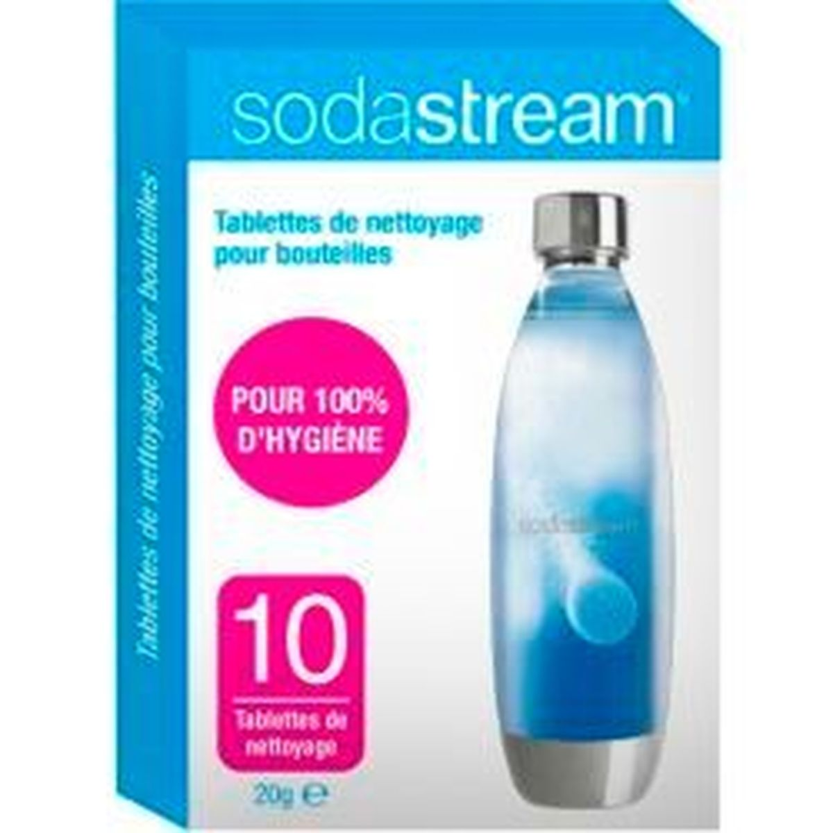 10 tablettes de nettoyage - Sodastream