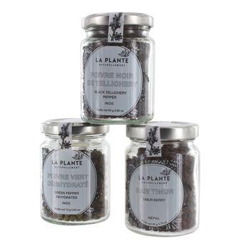 Achat en ligne Coffret de poivres et baies  Bio - Alice Delice