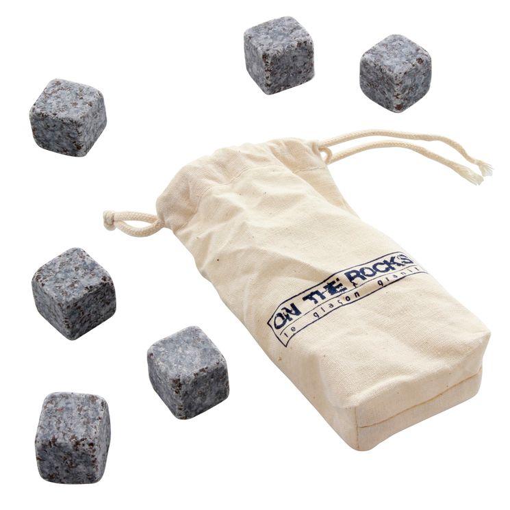 Pierres à whisky + pochette - On the rocks