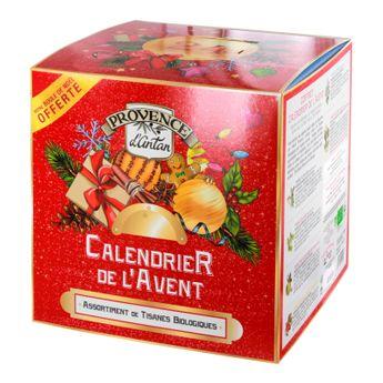 Calendrier de l´avent 53g bio - Provence d´Antan