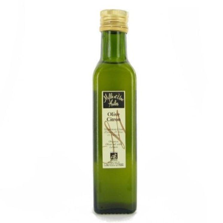 Huile olive bio au citron - Mille et une Huiles