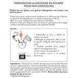 Préparation pain d´épices bio 250 gr - Alice Délice