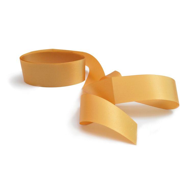 Ruban satiné doré apte au contact alimentaire 4 cm x 2 m - Scrapcooking