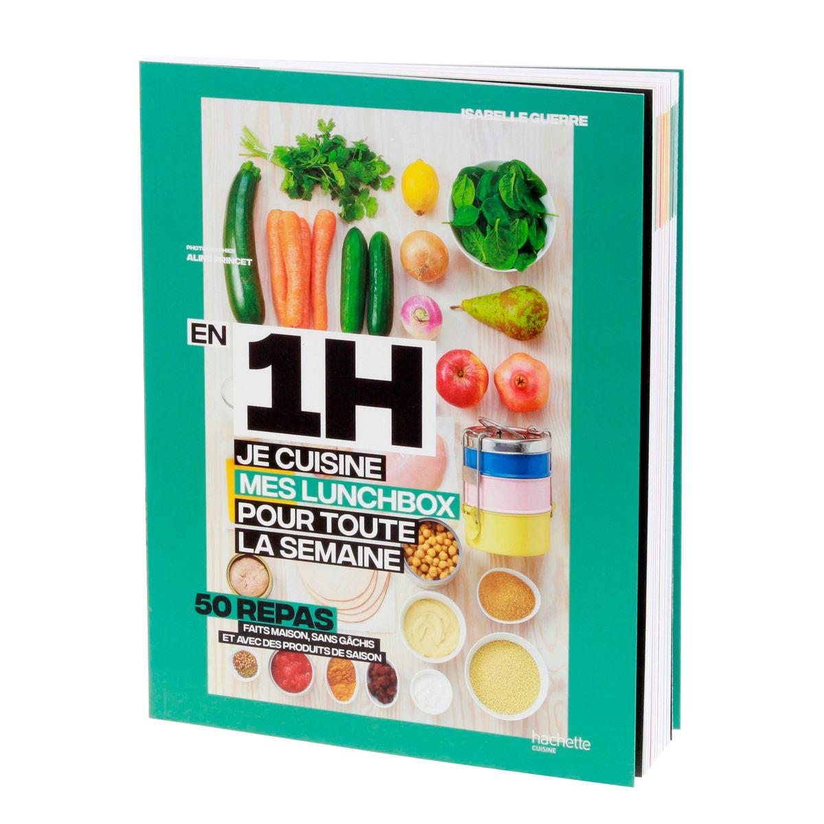 En 1h je cuisine mes lunchs box pour toute la semaine - Hachette