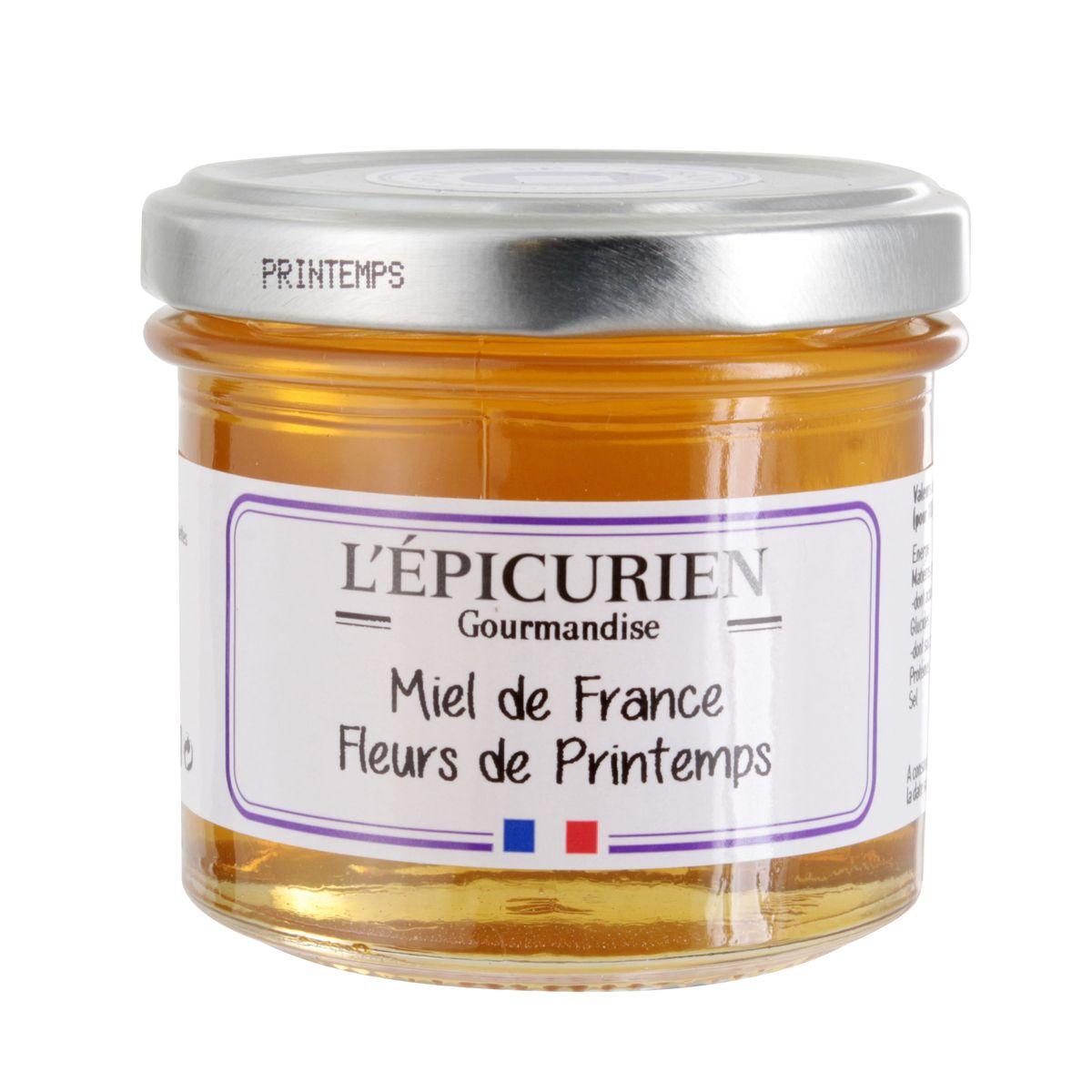 Miel de fleurs de printemps 150gr - L´Epicurien